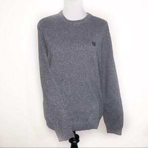 Chaps Heathered Grey Medium Sweater